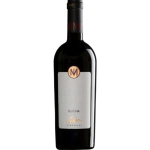 Vino Milas Blatina Reserved White Background