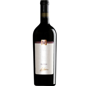 Vino Milas Blatina White Background